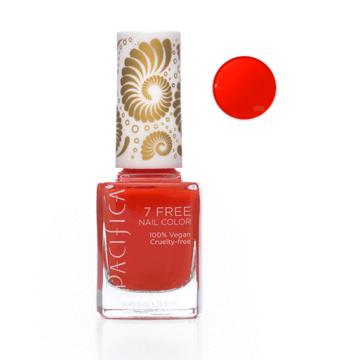 Pacifica | 7 Free Nail Polish | Tangerine Speedo Bright Orange