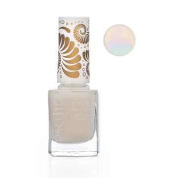 Pacifica | 7 Free Nail Polish | Unicorn Horn Pearl White