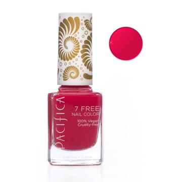 Pacifica | 7 Free Nail Polish | Crimson Kimono Hot Pink