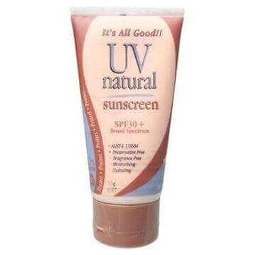 UV Natural  Sunscreen SPF30+ 50g