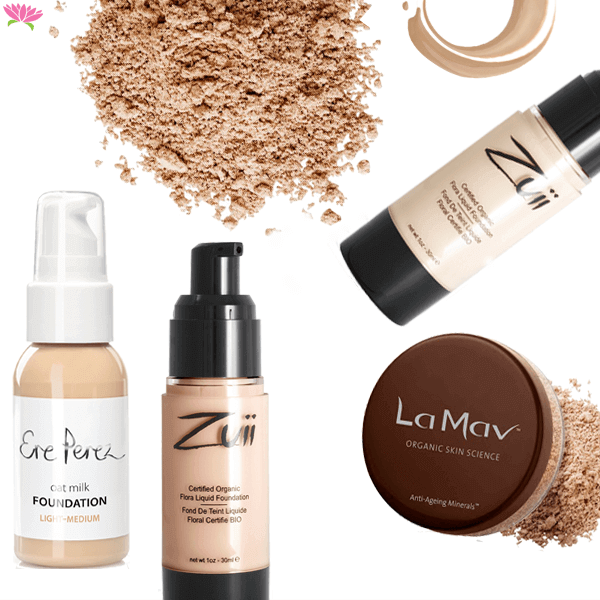 Natural & Mineral Foundation category